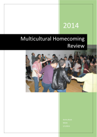 Multicultural Homecoming Report