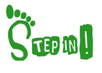 Step In! logo